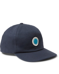 Gorra de béisbol estampada azul marino de Mollusk