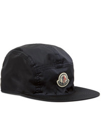 Gorra de béisbol estampada azul marino de Moncler
