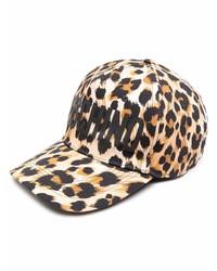 Gorra de béisbol estampada en beige de Moschino