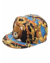 Gorra de béisbol estampada en multicolor de Moschino