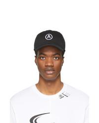 Gorra de béisbol estampada en negro y blanco de Axel Arigato
