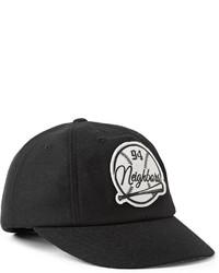 Gorra de béisbol estampada en negro y blanco