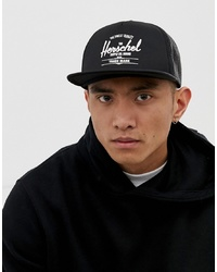 Gorra de béisbol estampada en negro y blanco de Herschel Supply Co.