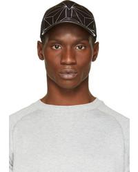 Gorra de béisbol estampada en negro y blanco de Neil Barrett