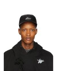 Gorra de béisbol estampada en negro y blanco de We11done