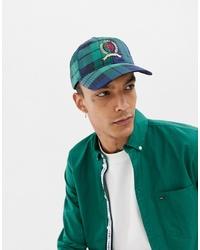 Gorra de béisbol estampada en verde azulado de Tommy Jeans