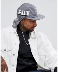 Gorra de béisbol estampada gris de adidas Originals