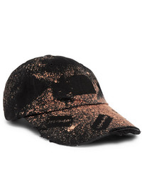 Gorra de béisbol estampada negra de 99% Is