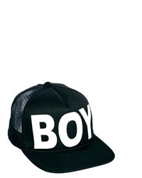Gorra de Béisbol Estampada Negra de Boy London