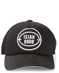 Gorra de Béisbol Estampada Negra