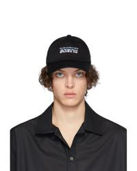 Gorra de béisbol estampada negra de Martin Asbjorn