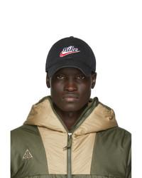 Gorra de béisbol estampada negra de Nike
