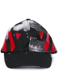 Gorra de béisbol estampada negra de Off-White