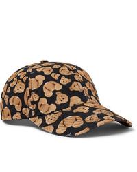 Gorra de béisbol estampada negra de Palm Angels