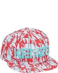 Gorra de Béisbol Estampada Roja