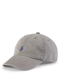 Gorra de béisbol gris