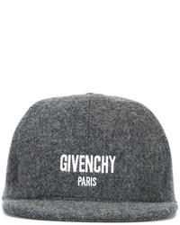 Gorra de Béisbol Gris Oscuro de Givenchy