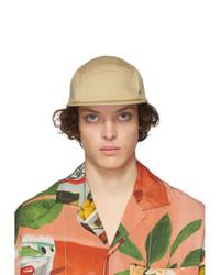 Gorra de béisbol marrón claro de Jacquemus