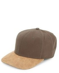 Gorra de béisbol marrón