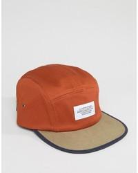 Gorra de béisbol naranja de Wesc