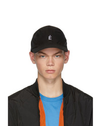 Gorra de béisbol negra de Études