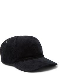 Gorra de béisbol negra de A.P.C.