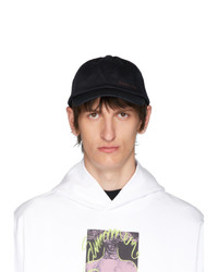 Gorra de béisbol negra de Acne Studios