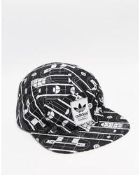 Gorra de béisbol negra de adidas