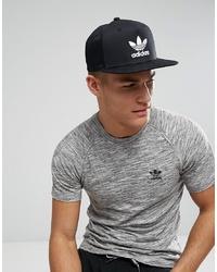 Gorra de béisbol negra de adidas Originals
