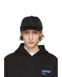 Gorra de béisbol negra de AFFIX