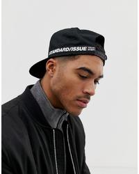 Gorra de béisbol negra de ASOS DESIGN