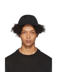 Gorra de béisbol negra de Issey Miyake Men