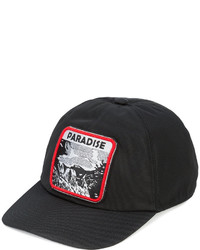 Gorra de béisbol negra de Lanvin