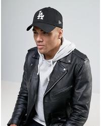 Gorra de béisbol negra de New Era