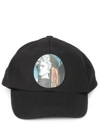 Gorra de béisbol negra de Off-White