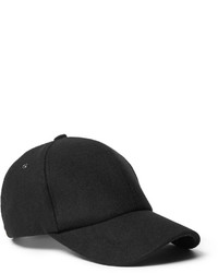 Gorra de béisbol negra de Paul Smith