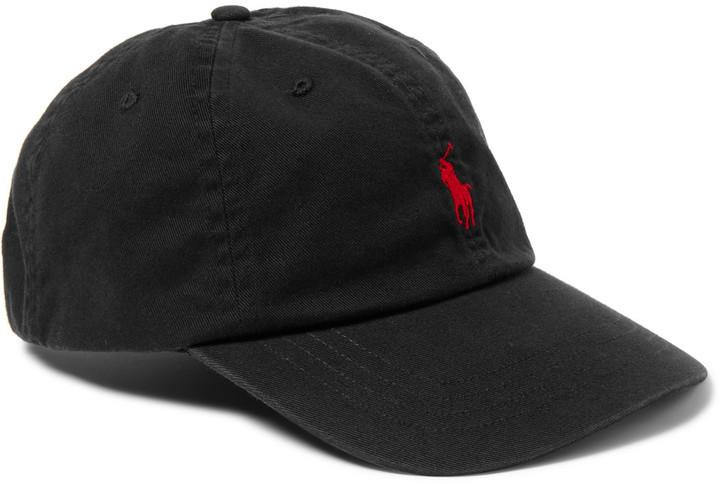 ... Gorra de béisbol negra de Polo Ralph Lauren ... dc9dff73384