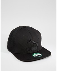 Gorra de béisbol negra de Puma