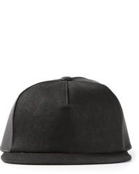 Gorra de béisbol negra de Rick Owens