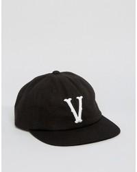 Gorra de béisbol negra de Vans