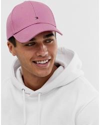 Gorra de béisbol rosa de Tommy Hilfiger