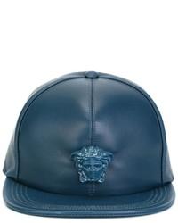 Gorra de Béisbol Verde Azulado de Versace