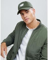 Gorra de béisbol verde oliva de New Balance