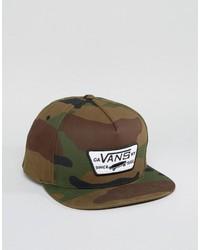 Gorra de béisbol verde oliva de Vans
