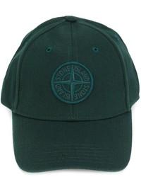 Gorra de béisbol verde oscuro