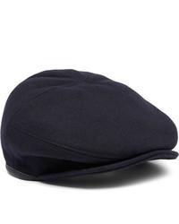 Gorra inglesa azul marino de Alexander McQueen