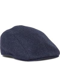 Gorra inglesa azul marino de Brunello Cucinelli