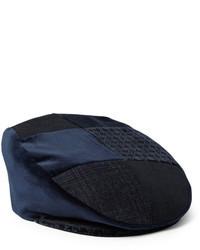 Gorra inglesa azul marino de Etro