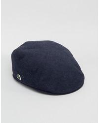 Gorra inglesa azul marino de Lacoste