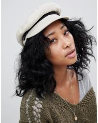 Gorra inglesa blanca de Brixton